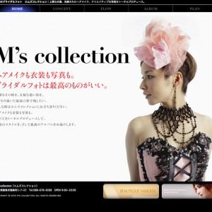 M's collection ホームページ