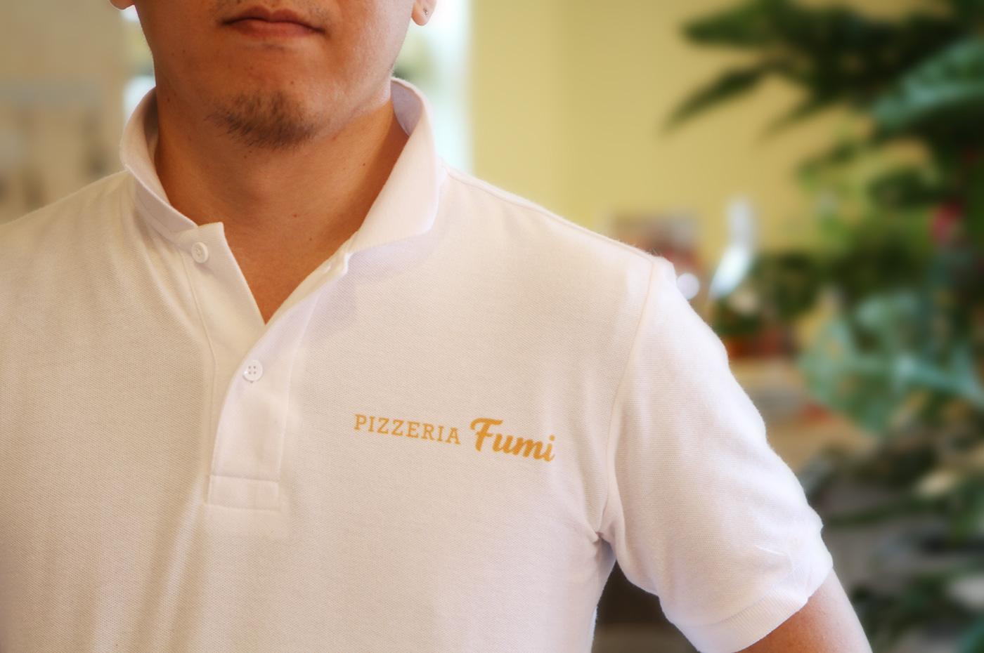 PIZZERIA fumi[飲食店]ポロシャツデザイン