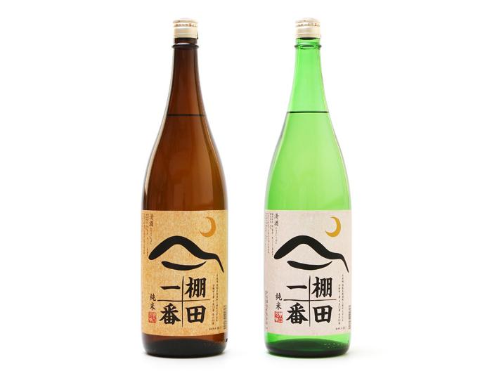 「棚田一番」日本酒ラベルデザイン