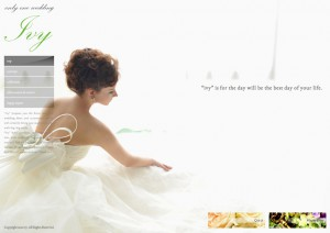 only one wedding ivy ホームページ制作