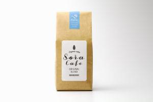 コーヒーのパッケージデザイン制作