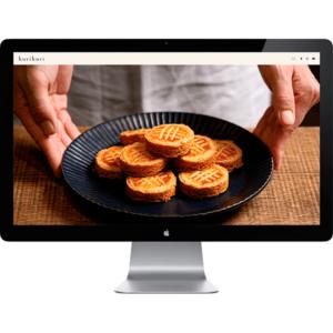 お菓子教室のホームページ制作