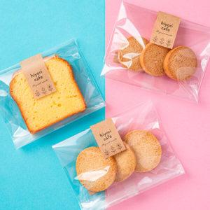 焼き菓子用シールデザイン制作